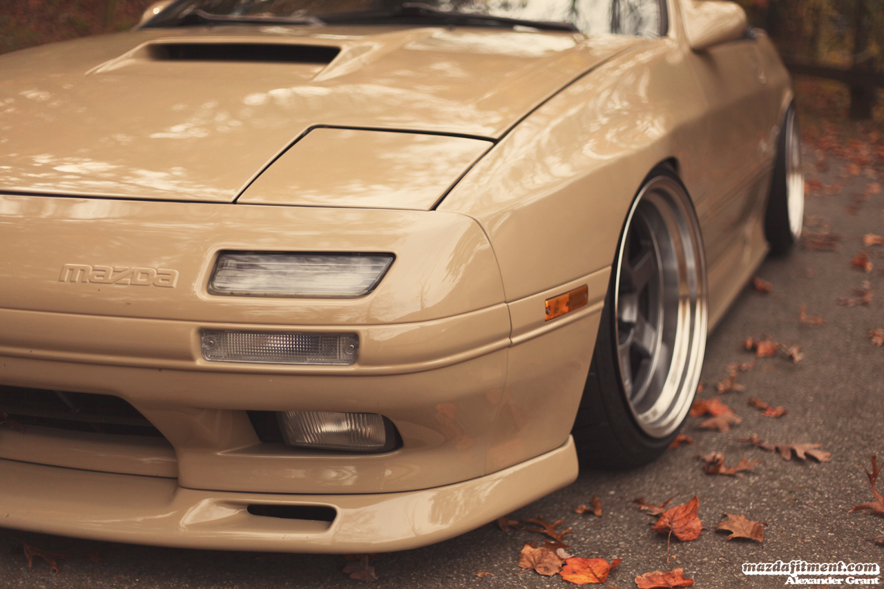 Alexander's RX7 Convertible – Mazda Fitment