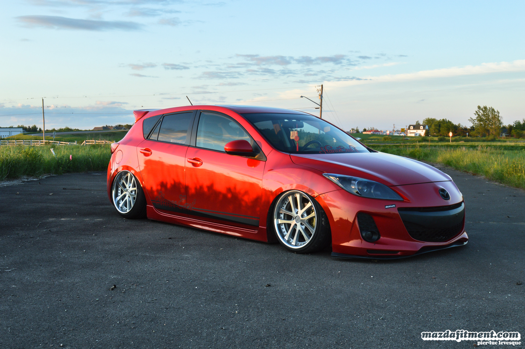 Stanced Mazda 3 Hatch Www Imgkid Com The Image Kid Has It